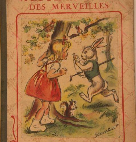 GERMAINE BOURET Alice in Wonderland, a reunion of three illustrated albums. Alic…