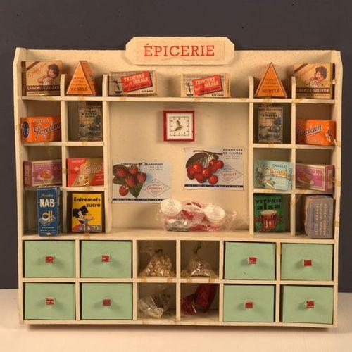 Germaine BOURET (d'après). Children's grocery, containing various facsimile redu…