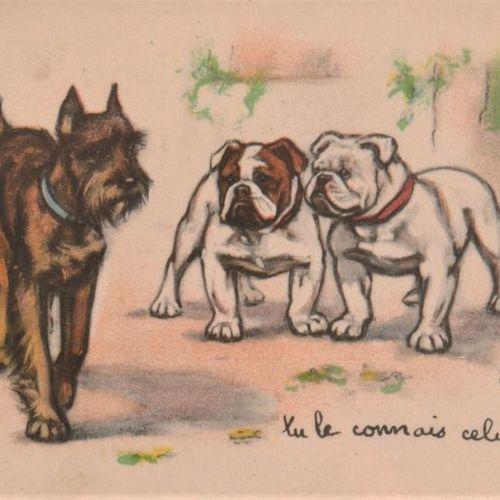 GERMAINE BOURET Modern slipcase album containing 86 CPSM in colour, most of them…