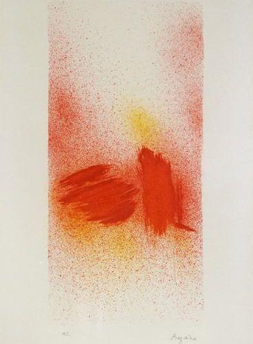 Jean René BAZAINE (1904 2001). Les Embruns, 1975. Lithography. Signed lower righ…