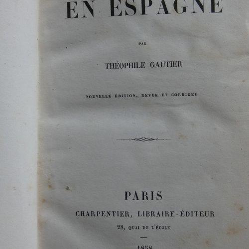 GAUTIER (Théophile). Militona. Paris, Desessart Editeurs, 1847. In 8, contempora…