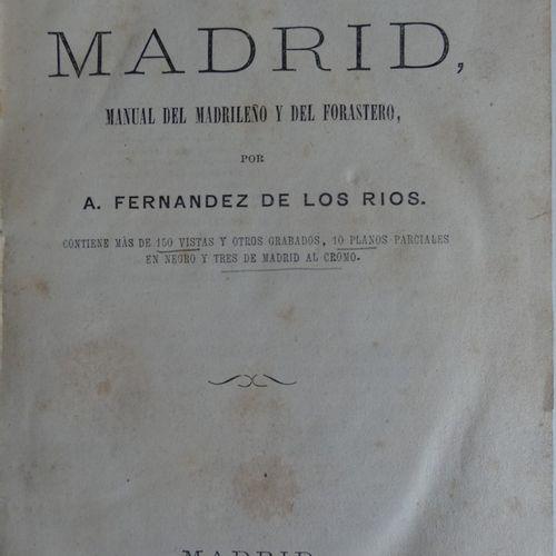GUIDES FRANÇAIS, ESPAGNOL ET JAPONAIS DE VOYAGES EN ESPAGNE. Anonyme. MADRID or …