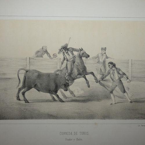 FEILLET (Hélène). Basque country. Bayonne, Bernain, [ca 1840]. Album in 4, half …