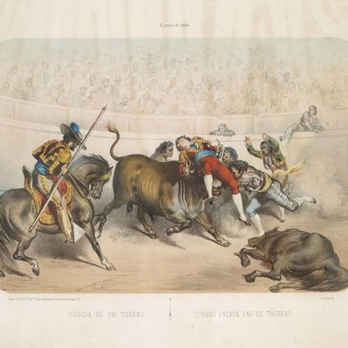 DORÉ (Gustave). Corrida de toros. Paris and New York, Turgis and Duane, [ca 1860…