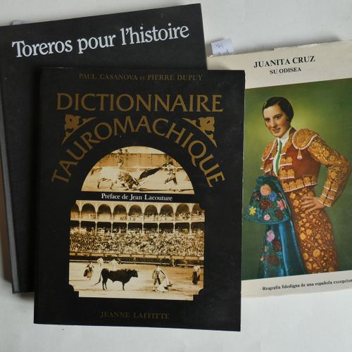 Dictionnaire / CASANOVA (Paul) & DUPUY (Pierre) . Bullfighting Dictionary . Pref…