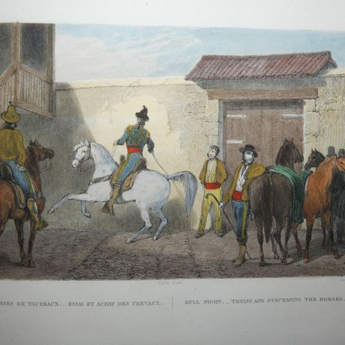 TAYLOR (J.). Picturesque trip to Spain and the African coast of Tangier and Teto…