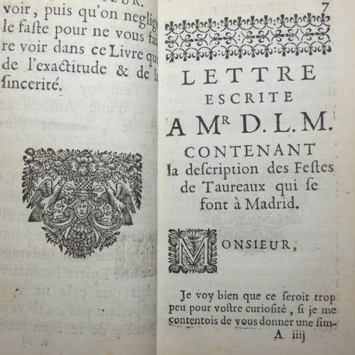 [CAREL (Jacques). Sieur de Sainte Garde]. Curious memoirs sent to Madrid about t…