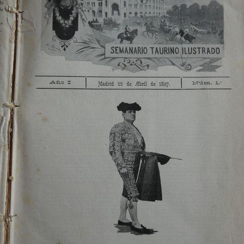 Revue / Sol y sombra. Semanario taurino illustrado. Madrid, [w.M.], 1897. Strong…