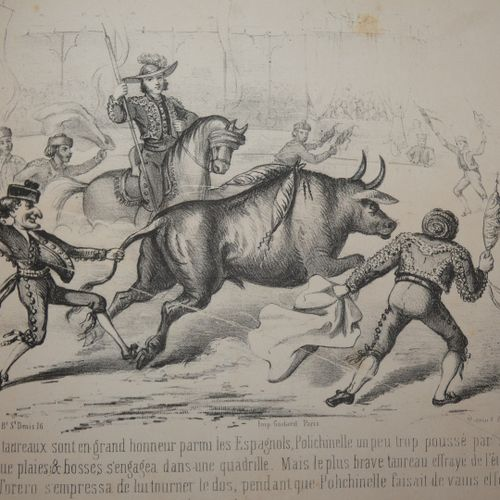 ROSTAING (Jules). Curious journey of Oddball. Paris, Magnin, Blanchard et Cie, L…