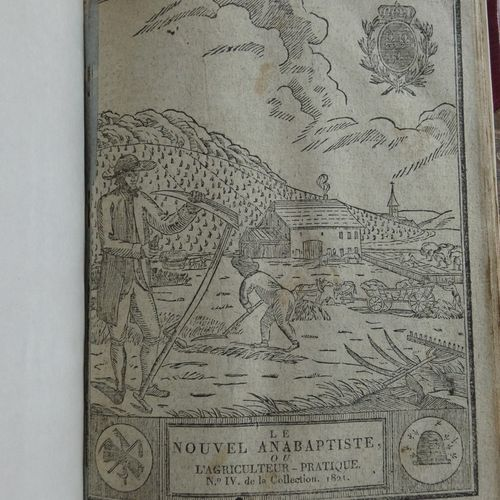 LE NOUVEL ANABAPTISTE or The Farmer's Almanac new for the year 1821. Montbelliar…
