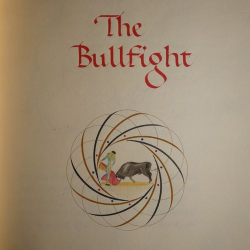 Manuscript / The Bullfight. A brief description with notes and sketches... S.L.,…