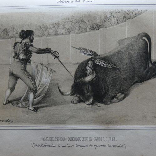 BEDOYA (Fernando Garcia). Historia de torero, y de las principales ganaderias de…