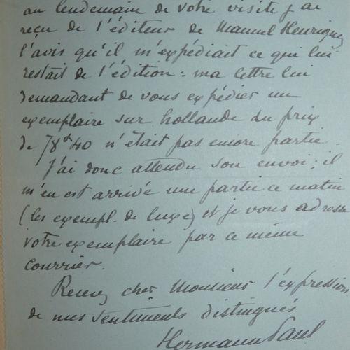 Hermann Paul / CARAYON (Marcel). The life and work of Manuel Henriquez, matador …
