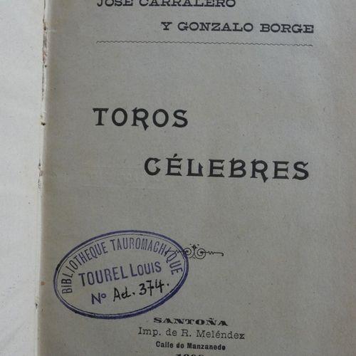Lot / Livres en espagnolSANTA COLOMA (José). La Tauromaquia compendio de la hist…