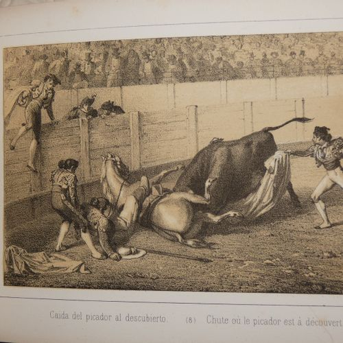 VALLEJO (José). Espana corrida de toros Bullfights and bullfights in Spain. Madr…