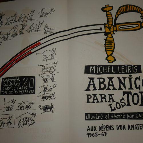 Paris / LEIRIS (Michel). Abanicos para los toros... Paris, Aux dépens d'un amate…