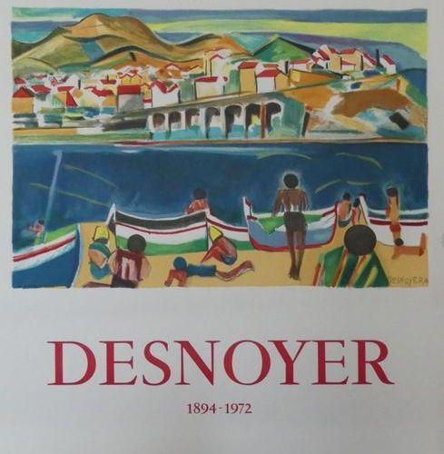 DESNOYER François (1894 1972) (3 affiches) VERNET LES BAINS GALERIE GUIOT (1973)…