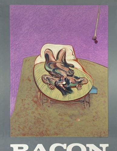 BACON FRANCIS (1909 1992) GALERIE MAEGHT Maeght Editeur, Arte Paris 70 x 45 cm N…
