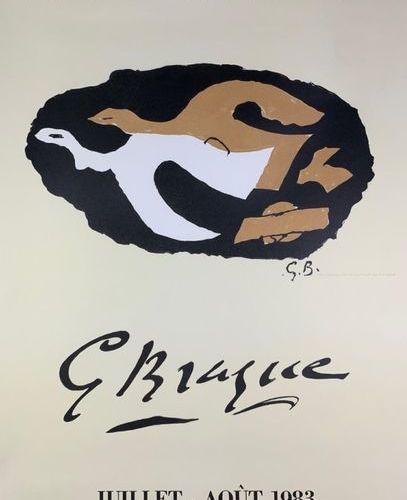 DIVERS (4 Affiches) BRAQUE MATISSE PICABIA ROUAULT Imprimeries Mourlot et Mourlo…