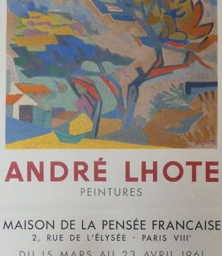 DIVERS (5 Affiches) BRAM VAN VELDE (1964) André LHOTE (1961) (2) ROUAULT (1960) …