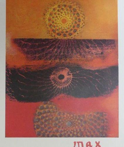 DIVERS (5 Affiches) CESAR (2) KUPKA (1958) MATTA (1978) MAX ERNST (1974) Imp.Mou…