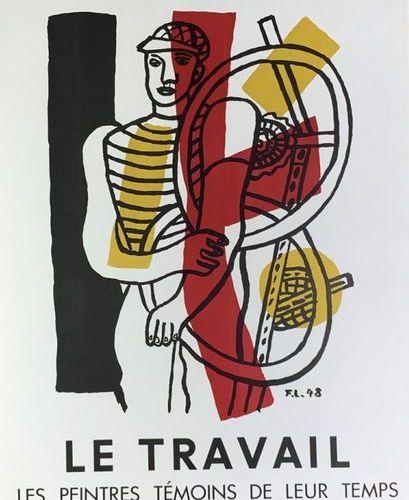 LÉGER Fernand (1881 1955) Musée d'Art Moderne.LE TRAVAIL(1951) & Galerie Louise …
