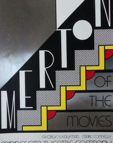 LICHTENSTEIN Roy (1923 1997) MERTON OF THE MOVIES. 1968 Roy Lichtenstein List Ar…