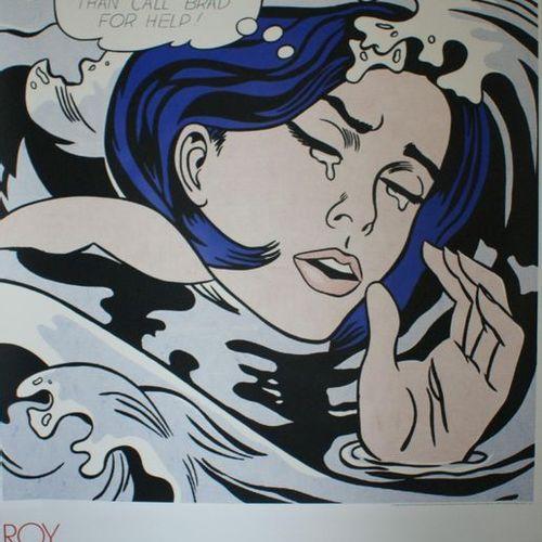 LICHTENSTEIN ROY (1923 1997) THE MUSEUM of MODERN ART.NEW YORK. 1989 The Museum …
