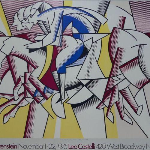 """LICHTENSTEIN ROY (1923 1997) LEO CASTELLI, New York.""""ROY LICHTENSTEIN. The Red H…"""