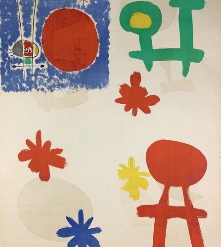 MIRO Joan (1893 1983) (2 affiches) GALERIE MAEGHT & TIRAGE D'ESSAI (double face)…