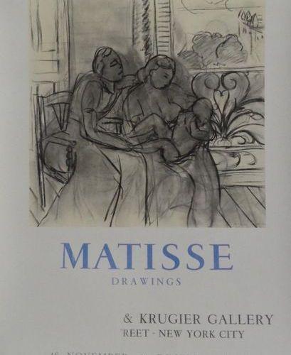 """MOURLOT (imprimerie) (5 posters) Jean COCTEAU (1965) LAPICQUE (1962) """"MATISSE DR…"""
