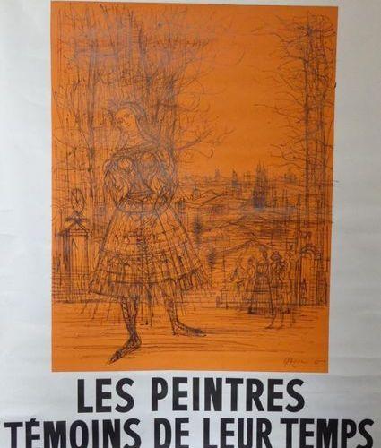 CARZOU Jean (1907 2000) MUSÉE GALLIÉRA. LES PEINTRES TÉMOINS DE LEUR TEMPS.1966.…