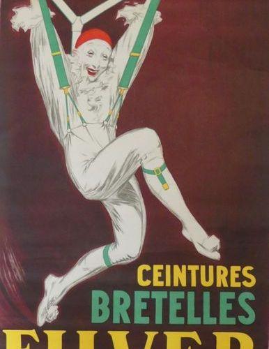 D'YLEN Jean (d'après) BAZIN & ANONYME (4 posters) JEANNE D'ARC MONASTINE BRETELL…