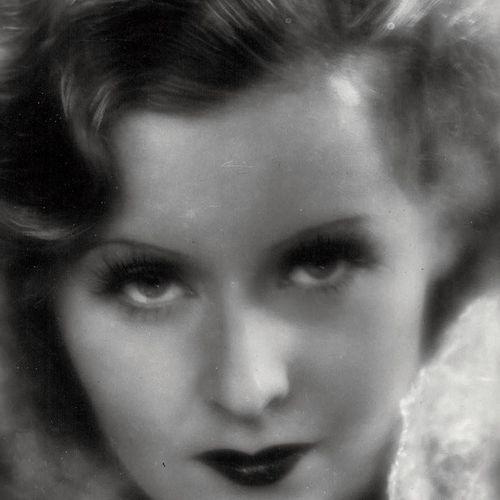 LILIAN HARVEY Portrait de l'actrice, ca. 1930. Photographie. Tirage argentique d…