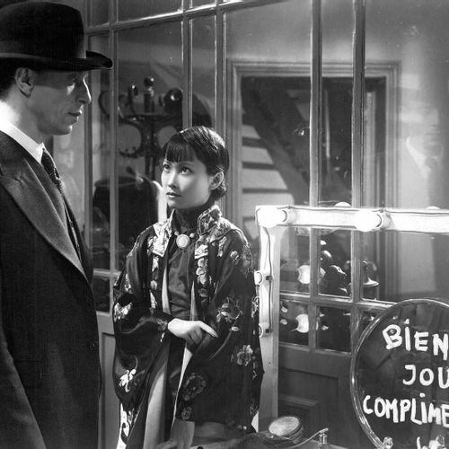 L'ALIBI Louis Jouvet, Erich von Stroheim et Foun Sen, film de Pierre Chenal, 193…