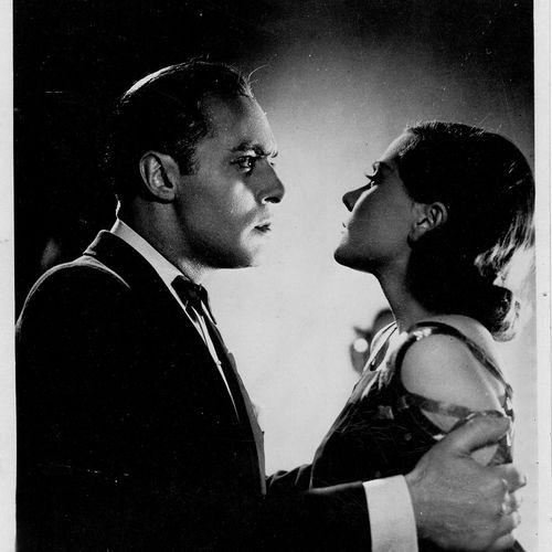 L'EPERVIER Natalie Paley, Charles Boyer et George Grossmith Jr., film de Marcel …