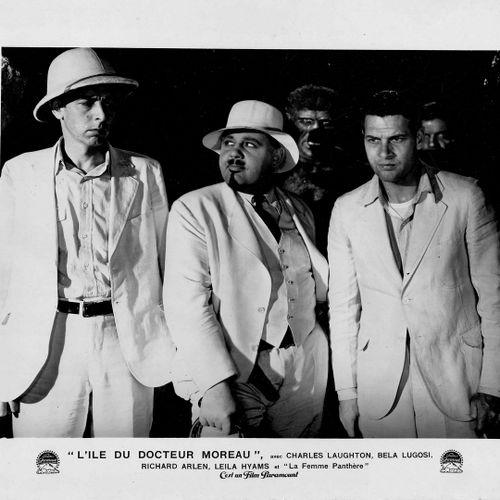 L'ÎLE DU DOCTEUR MOREAU ISLAND OF LOST SOULS Charles Laughton, Richard Arlen, Bé…