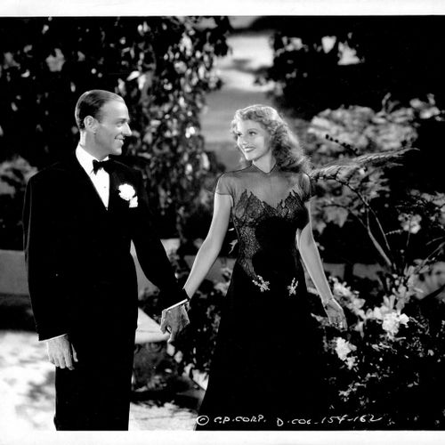 Ô TOI MA CHARMANTE YOU WERE NEVER LOVELIER Rita Hayworth et Fred Astaire, film m…
