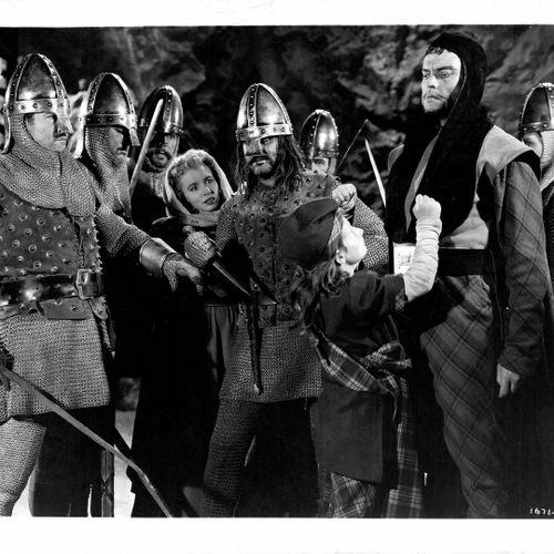 MACBETH Scènes du film d'Orson Welles ave Jeanette Nolan, d'après la pièce de th…