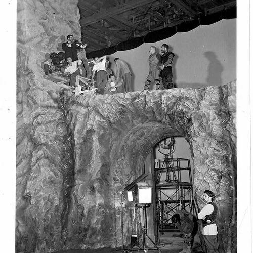 MACBETH Orson Welles, film d'après la pièce de théâtre de William Shakespeare, 1…
