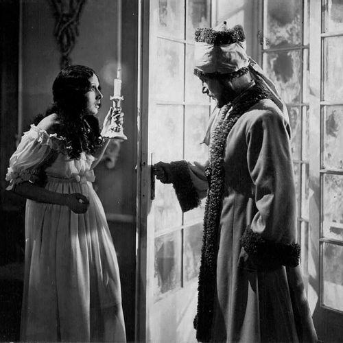 LE DIABLE BLANC DER WEISSE TEUFEL Ivan Mosjoukine et Betty Amann, film d'Alexand…