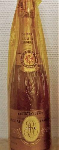 CHAMPAGNE CRISTAL de ROËDERER 1976 1 bouteille