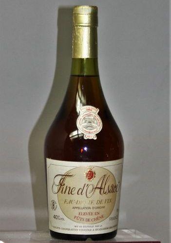 FINE D'ALSACE COOP. De SIGOLSHEIM ELEVAGE EN FUT DE CHÊNE 1 bouteille