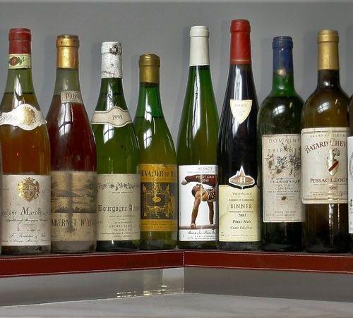 VINS DIVERS ALSACE LOIRE BORGOGNE BORDEAUX... 4 Bouteilles VINS ROSES 2 bouteill…