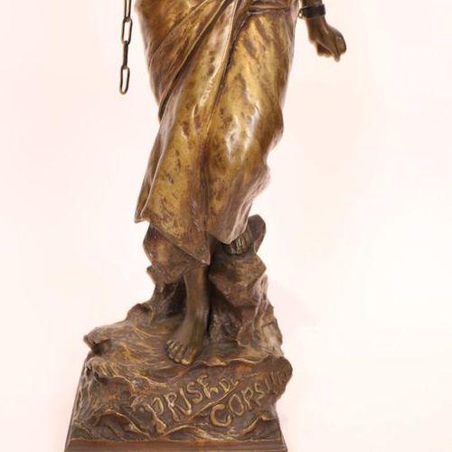 "EASTERN BRONZE ""CORSORSORY TAKEOVER"" BY Emmanuel VILLANIS (1858 1914)  Very beau…"