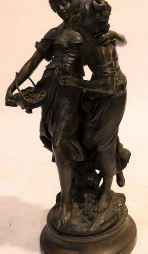 """""""L'AMITIE"""" by Auguste MOREAU (1834 1917) IN RULES  Very beautiful touching subje…"""