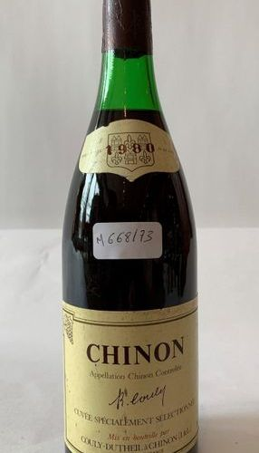 1 BOX CHINON 1980  Loire Valley  Level: high shoulder