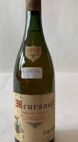 1 BTE MEURSAULT 1959  Level: high shoulder