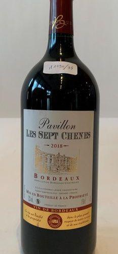 1 MAGNUM PAVILION LES 7 CHÊNES 2018 Bordeaux  Good level