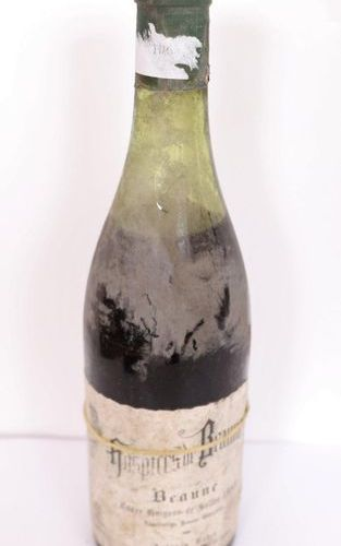 "1 BOX ""HOSPICES DE BEAUNE"" CUVEE GUIGONE DE SALINS 1965  As is."